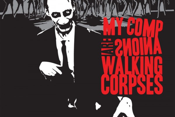 My companions are walking corpses