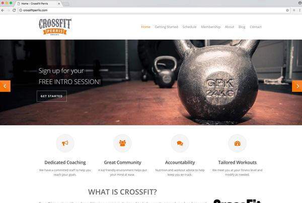 CrossFit Perris Web