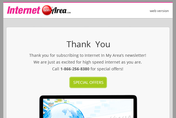 InMyArea Email