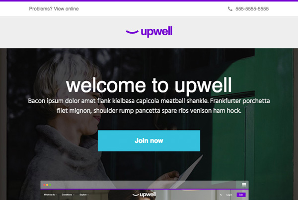 UpWell Email